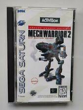Mechwarrior 2 - SEGA Saturn - CIB - NTSC US