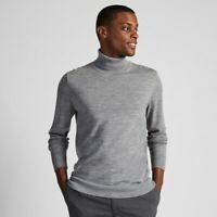 UNIQLO Mens Extra Fine Merino Turtleneck Long Sleeve Sweater Size S NEW withTags