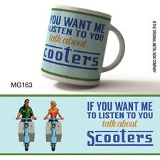 Retro Talk About Scooters Mug