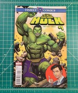Timely Comics Totally Awesome Hulk #1 (2016) NM Marvel Comics Frank Cho Greg Pak