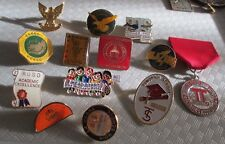 Nice 13pc SCHOOL DISTRICT TEACHER STAFF HEADSTART MISSOURI Lapel Pin Lot (AP207