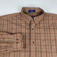 Pendleton Button Down Shirt Men's Medium Multi-Color Checks Long Sleeve