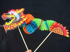 Chinese Asian New Year Waffle Paper Dragon Table Home Party Office Decoration