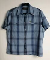 Wrangler Men's Casual Check Short Sleeve Shirt Size M