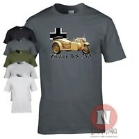 Zundapp K750 WW2 German military motorcycle T-shirt World Tanks World War 2