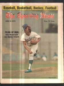 The Sporting News Newspaper June 21, 1975 Piling Up Wins Andy Messersmith