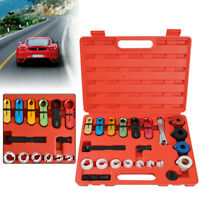 22Pcs A/C Air Condition and Fuel Line Disconnect Tool Boxed Set For Ford GM Car