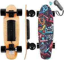Elektro Skateboard E-Skateboard mit Funkfernbedienung 20km/h Longboard 350W DHL
