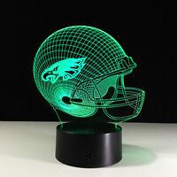 Philadelphia Eagles Carson Wentz Nick Foles LED Light Lamp Collectible Gift