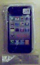 WHITE GEL CASE FOR 4G/4S PHONES. (NEW SEALED).
