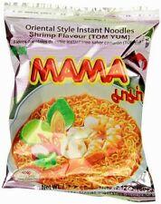MAMA Instant Tom Yum Noodles Artificial Pork Flavor Spicy Shrimp Yummy ,30 Pkgs.