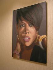 KELIS Original Painting 24inch x 20inch Acrylic on Canvas + 24CT GOLD LEAF