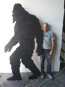 Big Foot YETI 8' Stencil Pattern Shadow YARD ART Sasquatch Giant Beast Mystery
