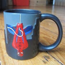 Spider Man Official Marvel Tea Coffee Mug Cup Ceramic 3D Raised Design Hanging