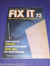 FIX IT #72 - VENEERING