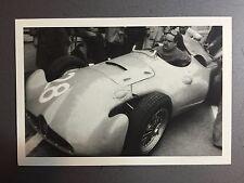 1956 Bugatti French F1 GP Reims France Jesse Alexander Postcard Post Card RARE!!