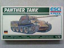 Esci 8363 Panther Tank 1:72 Neu & nicht eingetütet in OVP mit Lagerungsspuren