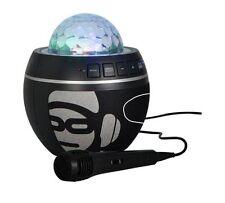iDance BB10 Disco Lights Bluetooth Karaoke Machine Speaker - Black