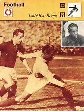 Fiche Photo Football LARBI BEN BAREK Edit RENCONTRE