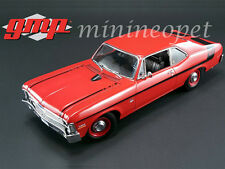 GMP 18830 1970 70 CHEVROLET NOVA YENKO DEUCE 1/18 DIECAST MODEL CRANBERRY RED