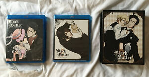 Black Butler Season One & Two Blu-ray Limited Edition