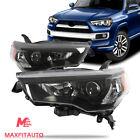 Fits Toyota 4Runner 2014-2020 Headlights Headlamps Projector Black Housing Pair