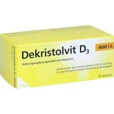 Dekristolvit D3 4.000 I.e. Vitamin D 90 Tablets