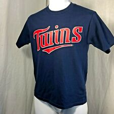 Majestic Blue Minnesota Twins MLB Youth T-Shirt Size M NWOT
