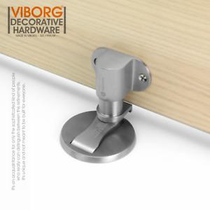 304 Stainless Steel Floor Mounted Magnetic Door Stopper Door Stop Doorstop
