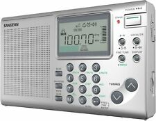 Sangean Ats-405 Radio Tuner - 36 X Fm, 36 X Am, 36 X Sw Presetslcd (ats405)