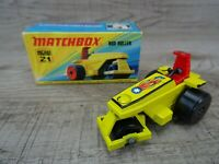 Vintage Lesney 1973 Rod Roller No 21 Matchbox Superfast Diecast Toy Car Boxed