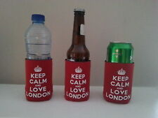 London Keep Calm And Love London Bottle & Can Cooler BUY 2 GET 1 FREE!
