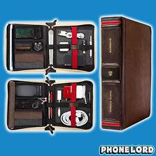 Genuine Twelve South BookBook Travel leather Journal case iPad Mini Air 2 Brown