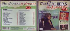 Mes Cahiers de Chansons 5 - Mathé Altéry - Cd 26 titres Marianne Mélodies 2013
