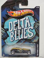 HOT WHEELS 2012  JUKE BOX DELTA BLUES '33 FORD LO BOY W+