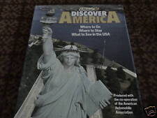 DISCOVER AMERICA USA AMERICAN AUTOMOBILE ASSOCIATION