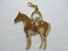 Vintage and Rare Kentucky Derby Sunny's Halo Purse Charm Fob Zipper Pull 1983