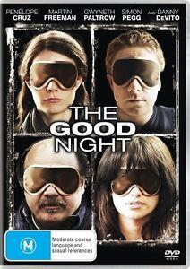 The Good Night (DVD, 2008) Region 4 - Martin Freeman, Simon Pegg, Penelope Cruz
