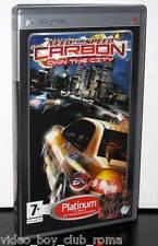 NEED FOR SPEED CARBON OWN THE CITY PLATINUM USATO BUONO STATO PSP ED ITA 28376
