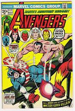 (1973) THE AVENGERS #117 NAMOR vs CAPTAIN AMERICA! AVENGERS Vs DEFENDERS WAR!