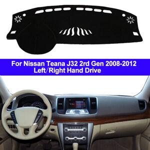 Car Dash Mat Dashboard Cover Carpet For Nissan Teana J32 2008 - 2010 2011 2012