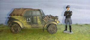 1/32 forces of valor Kubelwagen +  JCM figure Used