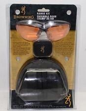 Browning Range Kit Shooting Glasses, Foam Earplugs, And Adjustable-fit Earmuffs