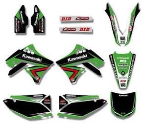 KAWASAKI KXF 450 2009 2008 2009 2010 2011 Graphics DECALS Sticker Kit MX