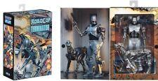 "Neca endocop & Terminator Perro 2-Pack 7"" Escala Figura Set (Robocop vs Terminator)"