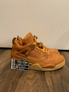 Nike Air Jordan 4 Retro Ginger Wheat 819139-205 - Size 8