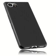 mumbi Hülle für Blackberry KEYone Schutzhülle Case Tasche Cover Schutz Schwarz