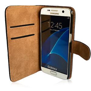 Handy Tasche für Samsung Galaxy Wall Cover Mobile Case Schutz Etui