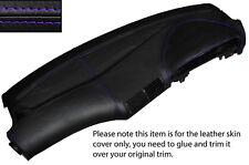 Haut violet stitch Tableau De Bord Dash cuir peau couvrir fits bmw série 5 E39 95-03