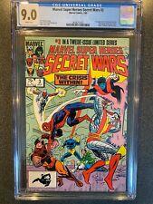 MARVEL SUPER HEROES SECRET WARS No.3 CGC 9.0 1st VOLCANA & NEW TITANIA